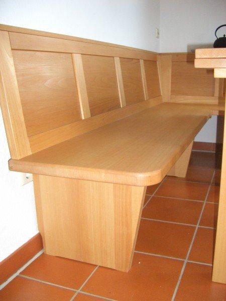 Eckbank massiv buche  Wir fertigen individuelle Möbel nach Maß