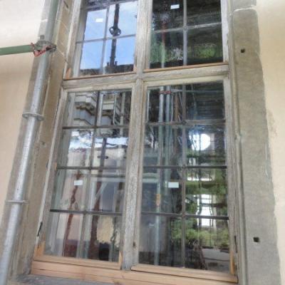Gesamtfenster nach Restaurierung außen ohne Oberfläche