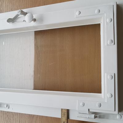 Einfachfenster mit 33mm breiten Flügelrahmen