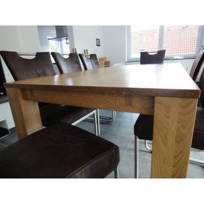 Eiche massiv Tisch ohne Auszugsplatten