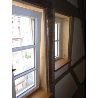 Fenster im Fachwerk in Ulm