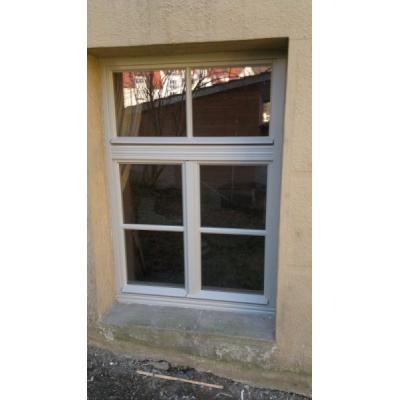 Neuanfertigung Retro 58 Fenster mit Profilierung im Kämpfer