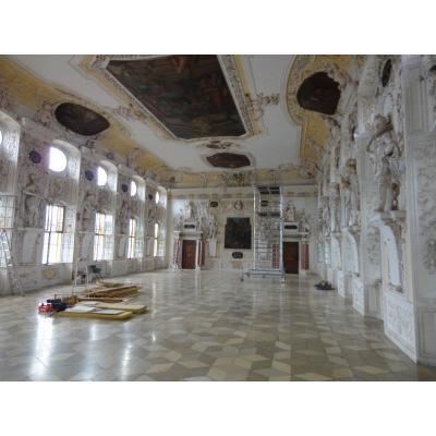 Gesamt - Innenansicht Kaisersaal nach Restaurierung