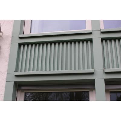 Füllungselement in Fassade
